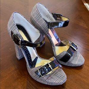 Zinc Blocked heels